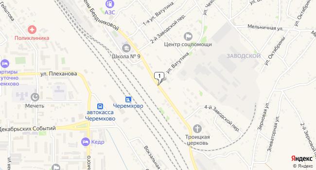 Купить земельный участок 50000 м<sup>2</sup> в Черемхово по адресу Россия, Иркутская область, Черемхово, улица Елены Бердниковой