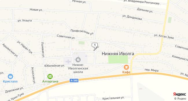 Купить земельный участок 800 м<sup>2</sup> в Улан-Удэ по адресу Россия, Республика Бурятия, Иволгинский район, село Нижняя Иволга