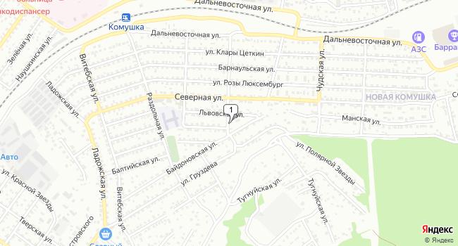 Купить земельный участок 1000 м<sup>2</sup> в Улан-Удэ по адресу Россия, Республика Бурятия, Улан-Удэ, микрорайон Новая Комушка