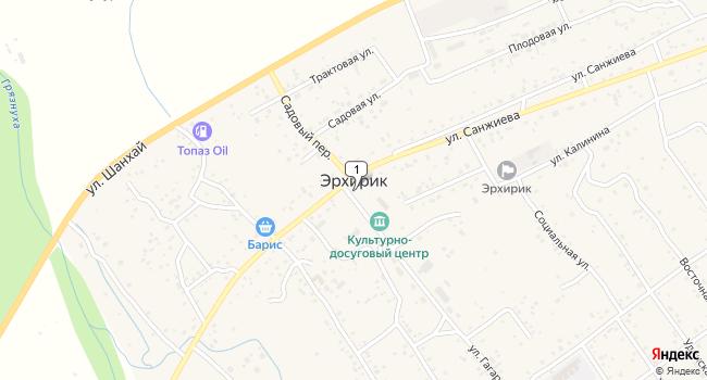 Купить земельный участок 1500 м<sup>2</sup> в Улан-Удэ по адресу Россия, Республика Бурятия, Заиграевский район, село Эрхирик