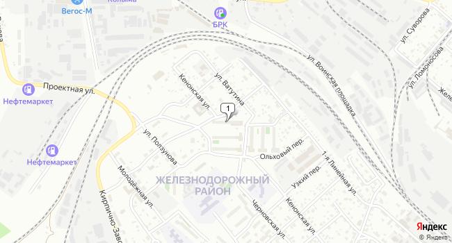 Купить производственное помещение 1318 м<sup>2</sup> в Чите по адресу Россия, Забайкальский край, Чита, Кенонская улица, 27