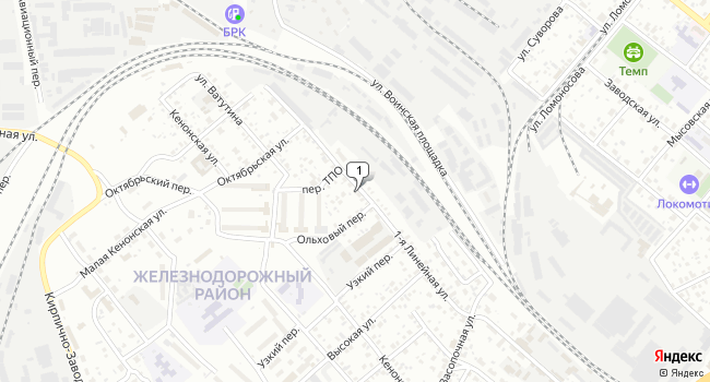Арендовать склад 2400 м<sup>2</sup> в Чите по адресу Россия, Забайкальский край, Чита, 1-я Линейная улица, 81