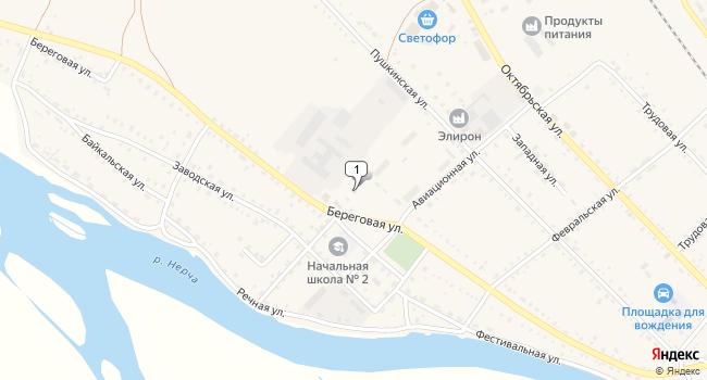 Купить производственное помещение 4370 м<sup>2</sup> в Нерчинске по адресу Россия, Забайкальский край, Нерчинск, Береговая улица, 66