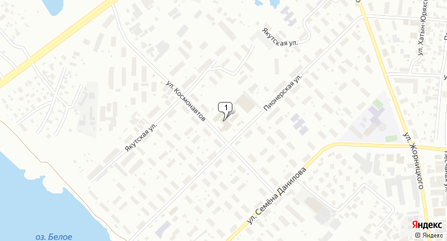 Арендовать торговую площадь 5 м<sup>2</sup> в Якутске по адресу Россия, Республика Саха (Якутия), Якутск, Пионерская улица, 30