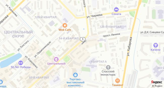 Арендовать офис 129 м<sup>2</sup> в Якутске по адресу Россия, Республика Саха (Якутия), Якутск, проспект Ленина, 9