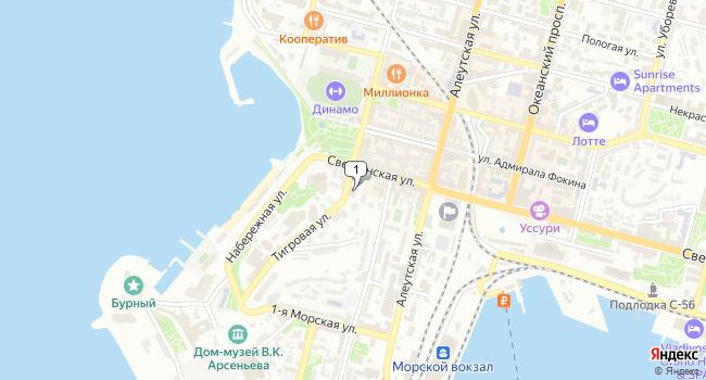 Арендовать офис 10 м<sup>2</sup> в Владивостоке по адресу Россия, Приморский край, Владивосток, Тигровая улица, 30