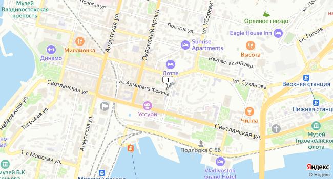 Арендовать офис 4 м<sup>2</sup> в Владивостоке по адресу Россия, Приморский край, Владивосток, улица Уборевича, 5А