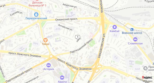 Арендовать коммерческую недвижимость 165 м<sup>2</sup> в Владивостоке по адресу Россия, Приморский край, Владивосток, проспект Острякова, 6А