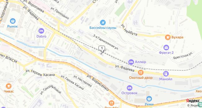 Арендовать коммерческую недвижимость 838 м<sup>2</sup> в Владивостоке по адресу Россия, Приморский край, Владивосток, улица Фадеева, 37