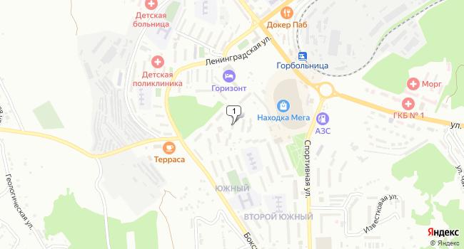Купить торговую площадь 260 м<sup>2</sup> в Находке по адресу Россия, Приморский край, Находка, Спортивная улица, 3А