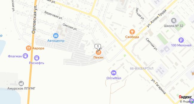 Купить производственное помещение 947 м<sup>2</sup> в Комсомольске-на-Амуре по адресу Россия, Хабаровский край, Комсомольск-на-Амуре, Тракторный переулок, 13