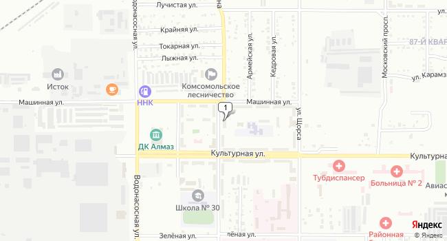 Купить торговую площадь 395 м<sup>2</sup> в Комсомольске-на-Амуре по адресу Россия, Хабаровский край, Комсомольск-на-Амуре, улица Сусанина, 76