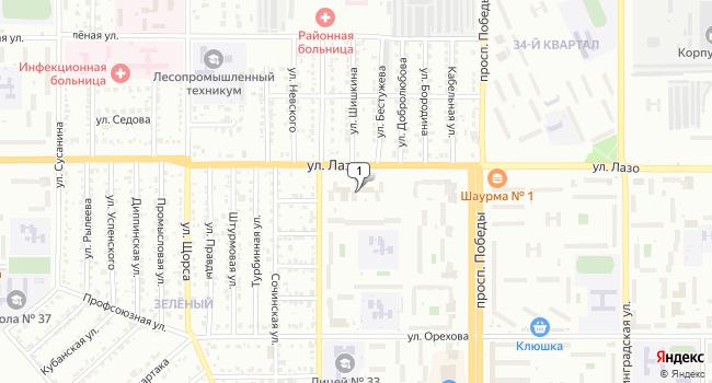 Купить коммерческую недвижимость 70 м<sup>2</sup> в Комсомольске-на-Амуре по адресу Россия, Хабаровский край, Комсомольск-на-Амуре, улица Лазо, 23