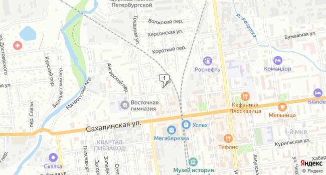 Купить коммерческую недвижимость 433 м<sup>2</sup> в Южно-Сахалинске по адресу Россия, Сахалинская область, Южно-Сахалинск, Сахалинская улица, 88А