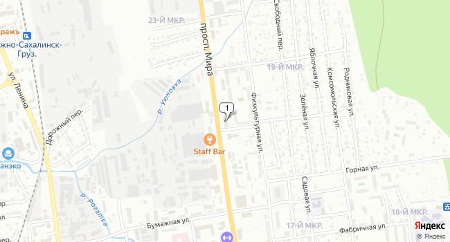 Купить офис 3737 м<sup>2</sup> в Южно-Сахалинске по адресу Россия, Сахалинская область, Южно-Сахалинск, проспект Мира, 57