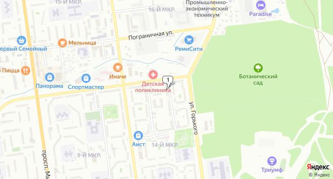 Купить торговую площадь 100 м<sup>2</sup> в Южно-Сахалинске по адресу Россия, Сахалинская область, Южно-Сахалинск, улица А.О. Емельянова, 7