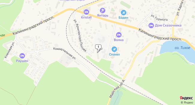Арендовать торговую площадь 79 м<sup>2</sup> в Светлогорске по адресу Россия, Калининградская область, Светлогорск, Олимпийский бульвар, 2