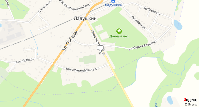 Купить торговую площадь 785 м<sup>2</sup> в Ладушкине по адресу Россия, Калининградская область, Ладушкин, Первомайская улица, 8
