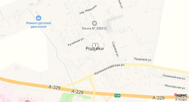 Купить земельный участок 12300 м<sup>2</sup> в Гурьевском по адресу Россия, Калининградская область, Гурьевский городской округ, поселок Родники