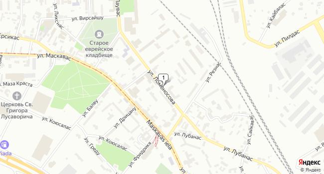 Купить кафе-ресторан 210 м<sup>2</sup> в г. Рига по адресу Латвия, Рига, улица Ломоносова