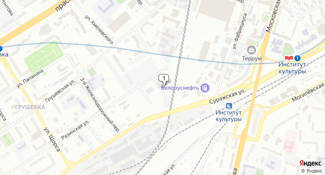 Арендовать склад 5000 м<sup>2</sup> в г. Минск по адресу Беларусь, Минск, Железнодорожная улица, 2