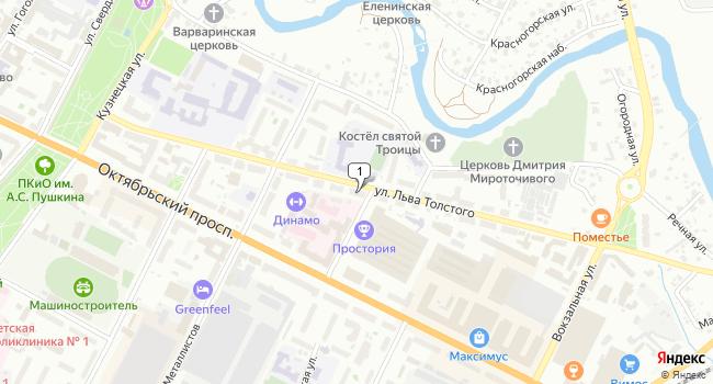 Арендовать офис 697.5 м<sup>2</sup> в Пскове по адресу Россия, Псков, улица Льва Толстого, 23