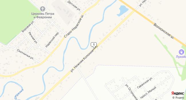 Арендовать торговую площадь 117 м<sup>2</sup> в посёлке Стрельна по адресу Россия, Санкт-Петербург, Петродворцовый район, поселок Стрельна, улица Нижняя Колония