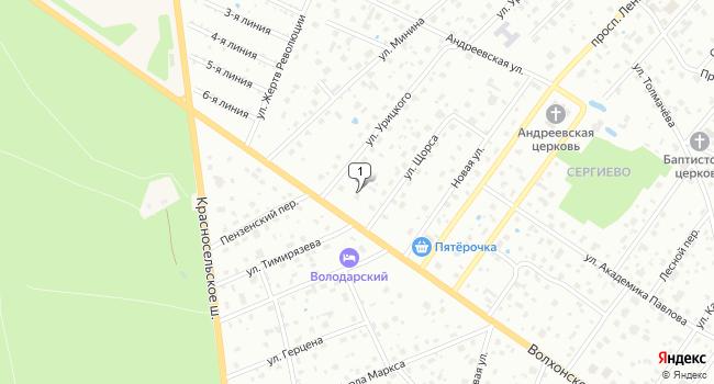 Арендовать склад 650 м<sup>2</sup> в посёлке Александровская по адресу Россия, Санкт-Петербург, Красносельский район, муниципальный округ Константиновское, Волхонское шоссе, 10