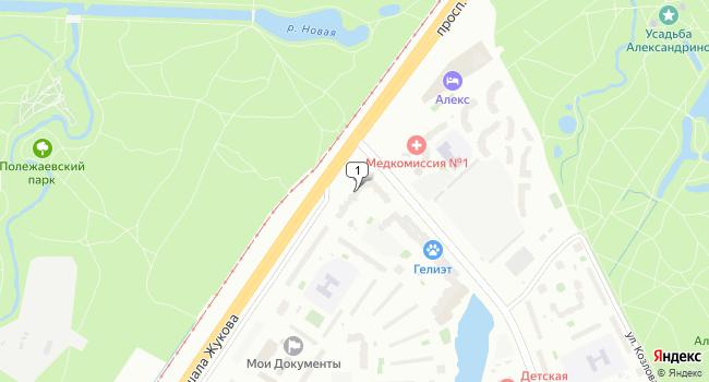 Арендовать торговую площадь 420 м<sup>2</sup> в Санкт-Петербурге по адресу Россия, Санкт-Петербург, проспект Маршала Жукова, 54к1