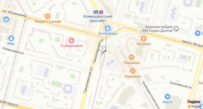 Арендовать офис 122 м<sup>2</sup> в Санкт-Петербурге по адресу Россия, Санкт-Петербург, Комендантская площадь, 8а