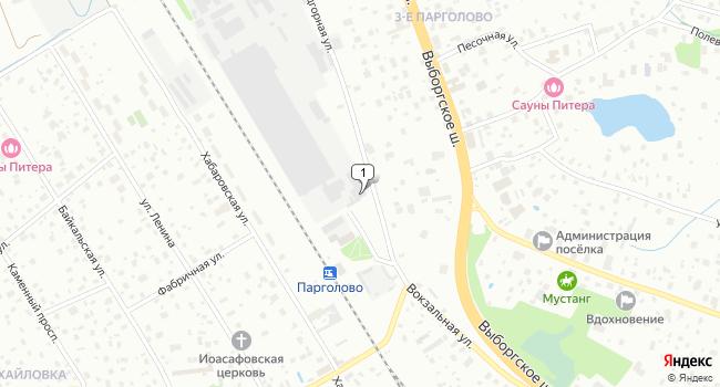 Арендовать склад 3466 м<sup>2</sup> в Санкт-Петербурге по адресу Россия, Санкт-Петербург, поселок Парголово, Железнодорожная улица, 11