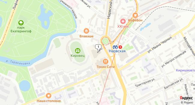 Арендовать торговую площадь 500 м<sup>2</sup> в Санкт-Петербурге по адресу Россия, Санкт-Петербург, площадь Стачек, 7