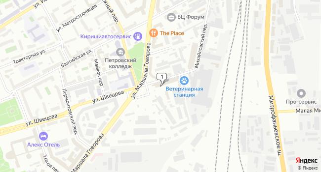Арендовать офис 26 м<sup>2</sup> в Санкт-Петербурге по адресу Россия, Санкт-Петербург, улица Швецова, 41