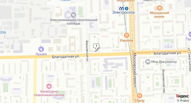 Арендовать коммерческую недвижимость 242 м<sup>2</sup> в Санкт-Петербурге по адресу Россия, Санкт-Петербург, Благодатная улица, 16