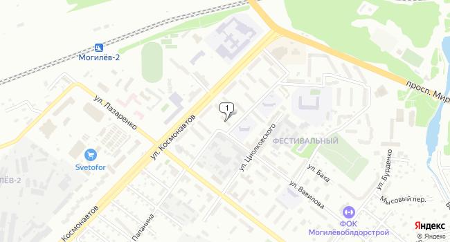 Купить отдельное здание 915 м<sup>2</sup> в Могилёве по адресу Беларусь, Могилёв, улица Космонавтов, 24