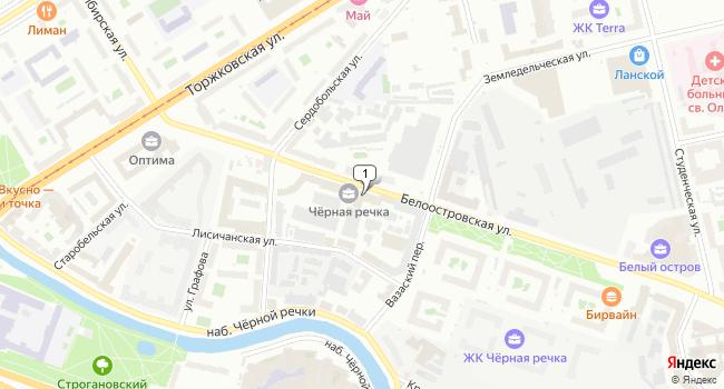 Арендовать офис 20 м<sup>2</sup> в Санкт-Петербурге по адресу Россия, Санкт-Петербург, Белоостровская улица, 22