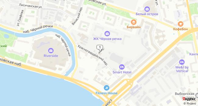 Арендовать офис 22 м<sup>2</sup> в Санкт-Петербурге по адресу Россия, Санкт-Петербург, Красногвардейский переулок, 15