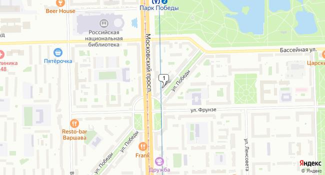 Арендовать торговую площадь 146 м<sup>2</sup> в Ломоносове по адресу Россия, Санкт-Петербург, Московский район, улица Победы, 16