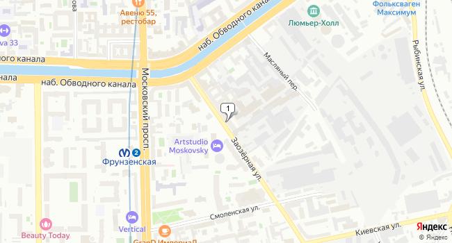Арендовать офис 79 м<sup>2</sup> в Санкт-Петербурге по адресу Россия, Санкт-Петербург, Заозерная улица, 8