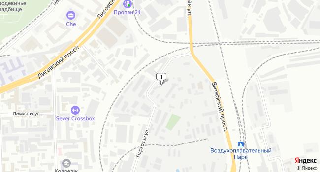 Арендовать офис 10 м<sup>2</sup> в Новомосковске по адресу Россия, Санкт-Петербург, Московский район, Парковая улица, 7