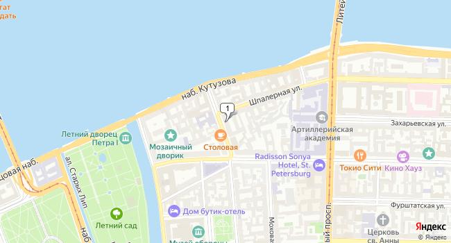 Арендовать офис 673 м<sup>2</sup> в Санкт-Петербурге по адресу Россия, Санкт-Петербург, Гагаринская улица, 6/1