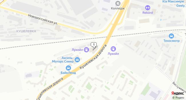 Арендовать коммерческую недвижимость 1460 м<sup>2</sup> в Санкт-Петербурге по адресу Россия, Санкт-Петербург, Кушелевская дорога, 20