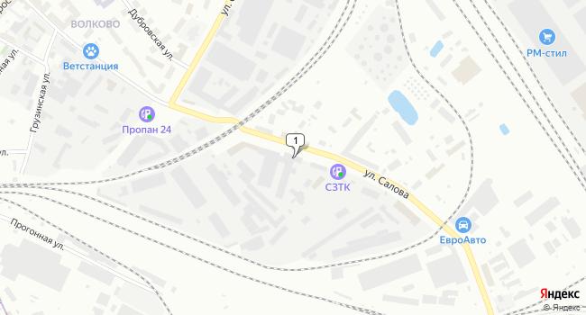 Арендовать склад 1200 м<sup>2</sup> в Санкт-Петербурге по адресу Россия, Санкт-Петербург, улица Салова, 27