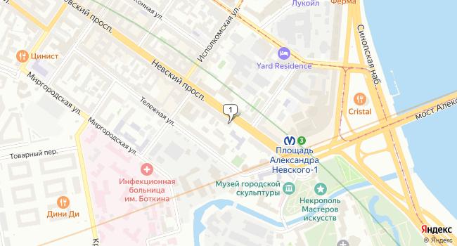 Арендовать коммерческую недвижимость 378 м<sup>2</sup> в Санкт-Петербурге по адресу Россия, Санкт-Петербург, Невский проспект, 163