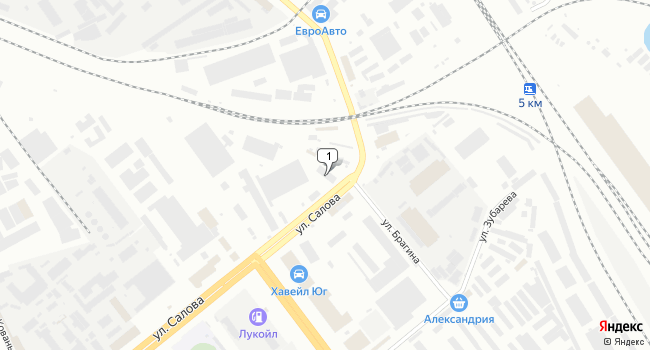 Арендовать склад 57 м<sup>2</sup> в Санкт-Петербурге по адресу Россия, Санкт-Петербург, улица Салова, 45