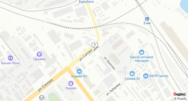 Арендовать офис 757 м<sup>2</sup> в Санкт-Петербурге по адресу Россия, Санкт-Петербург, улица Салова, 56