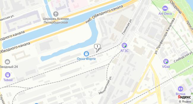 Арендовать офис 200 м<sup>2</sup> в Санкт-Петербурге по адресу Россия, Санкт-Петербург, Глиняная улица, 17