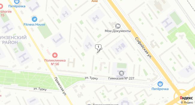Арендовать торговую площадь 90 м<sup>2</sup> в Санкт-Петербурге по адресу Россия, Санкт-Петербург, улица Турку, 24к2