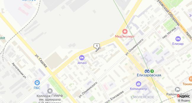 Арендовать торговую площадь 220 м<sup>2</sup> в Санкт-Петербурге по адресу Россия, Санкт-Петербург, Большой Смоленский проспект, 10