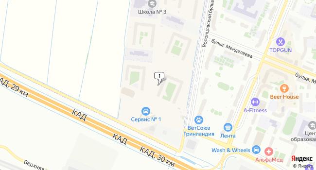 Арендовать склад 657 м<sup>2</sup> в посёлке Мурино по адресу Россия, Ленинградская область, жилой комплекс Мурино 2017